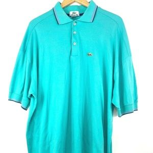 Vintage Lacoste Grand Patron Made in USA Polo